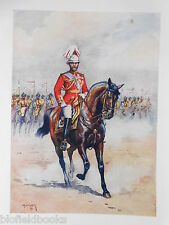 Antiquarian Indian Army Print (1911) His Majesty the King-Emperor - Major Lovett