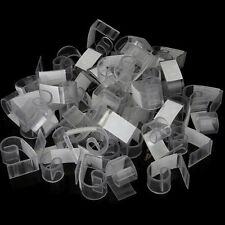 50pcs Plastic Table Skirt Skirting Clips 3-4.5cm Wedding Party ED