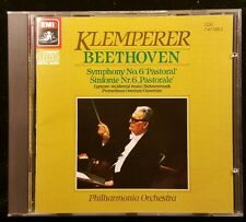 Beethoven Symphony No. 6 'Pastoral' Klemperer Philharmonia EMI Japan cd