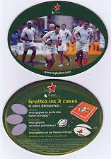 ★ HEINEKEN ★ RUGBY Sous bock coaster deckel #5 --- H-Cup 2005