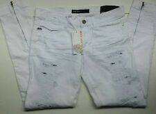 Miss Sixty Italian Made  Low Rise Slim Fit Ankle Zipper Jean Sz 30