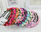 New Arrival Boho Style Floral Flower Women Hairband Headband Party Wedding