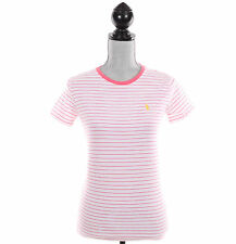 Ralph Lauren Sport Women Crew-Neck Stripe Tee T-Shirt Top Pony - Free $0 Ship