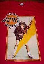 VINTAGE STYLE ACDC HIGH VOLTAGE ANGUS YOUNG T-Shirt XL NEW