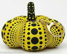 YAYOI KUSAMA 'Dots Obsession', 2012 Soft Pumpkin Sculpture Keychain Multiple 5""