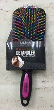 LaModa Rainbow Detangler PADDLE Brush LM8021