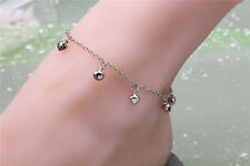 Charm Iron Bell Chain Anklet Bracelet Ankle Barefoot Sandal Beach Foot Jewelry