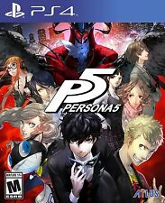 Persona 5 - Standard - PlayStation 4 Disc  Pre-Ordet Release Day Delivery!