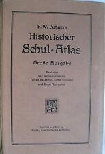 F.W. Putzgers Historischer Schul-Atlas Große Ausgabe 48. Auflage 1928