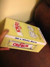 FULL BOX OF 36 x 31g NESTLE CRUNCH WHITE CHOCOLATE BARS BULK WHOLESALE DEAL UK