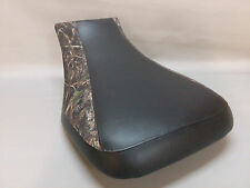 HONDA TRX500FPA Seat Cover 2005-2011 Foreman RUBICON 2-tone BLACK & CONCEAL