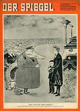 DER SPIEGEL 1956 Nr. 46 (14.11.): Bayer. Rundfunk: Erste Werbe-Fernsehsendung