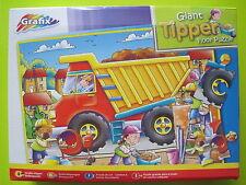 Grafix - 45pcs Giant Tipper Puzzle - De kiepwagen - Vloerpuzzel - Camion