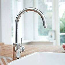 Grohe 32665 Concetto Single Handle Dual Spray Pull Down Kitchen Faucet P.Chrome