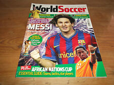 Football Magazine World Soccer January 2010 Special Issue 2009 Awards World Cup