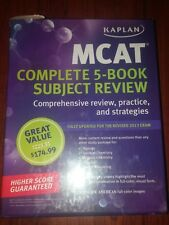 MCAT Complete 5-book Suubject Review by Kaplan (3rd Edition)