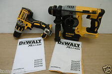 DEWALT XR 18V DCH273 SDS HAMMER & DCD795 COMBI DRILL BARE UNITS