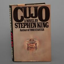 1981 CUJO by Horror Author Stephen King Viking Press First Edition Hardcover DJ