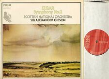 RL 25104 ALEXANDER GIBSON/SNO elgar symphony no 2 uk rca red seal LP PS EX/EX