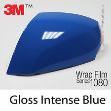 20x30cm FILM Gloss Intense Blue 3M 1080 G47 Vinyle COVERING Car Wrapping
