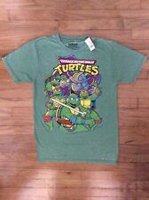 Teenage Mutant Ninja Turtles Green Tee Shirt Size Small