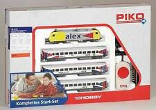 Piko H0 57130: Set De Iniciación Coche Pasajeros Alex con Locomotora diésel