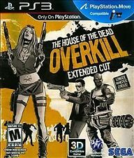 The House of the Dead: Overkill Extended Cut - PS3 *NEW*