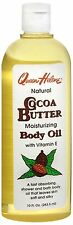 QUEEN HELENE Natural Moisturizing Cocoa Butter Bath and Shower Body Oil 10 oz