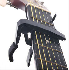 Quick Change Clamp Key Capo For Acoustic/Electric/Classic Guitar Black HOT ACUH