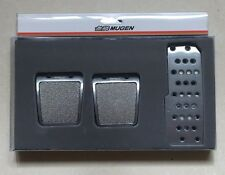 JDM MUGEN Power Pedal Cover Set for Acura Honda Civic Accord Prelude CRX