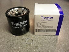 GENUINE TRIUMPH TIGER 800 / SE / EXPLORER ~ OIL FILTER with SUMP PLUG WASHER