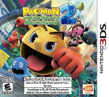 Pac-Man & The Ghostly Adventures 2 [Nintendo 3DS, NTSC, Video Game] Brand NEW