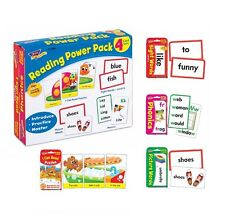 Trend Reading Power Pack 4 Flashcard Sets Early Readers