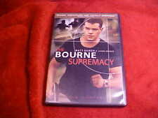 The BOURNE SUPREMACY DVD RATED PG-13 Matt Damon Potente Tested Plays Perfectly!
