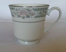 LYNN's Fine China Grace Floral Footed Cup Replacement Rose Flower Pattern