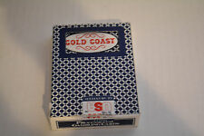 GOLD COAST Casino Special Playing cards full deck 52 PLUS JOKERS PGC Nevada fini