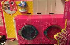 Barbie Laundry Time Play Set Washer Dryer Iron Board Detergent