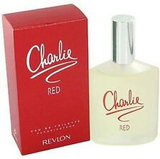 Charlie Red By Revlon Perfume 3.4 Oz 3.3 Edt Tester