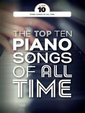 Top Ten Piano Songs Of All Time ADELE Coldplay Chart Hits PVG GUITAR MUSIC BOOK