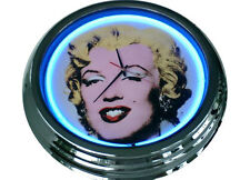 N-0204 Marilyn Monroe - Deko Neon Uhr Clock Wanduhr Neonuhr Neonclock Werkstatt