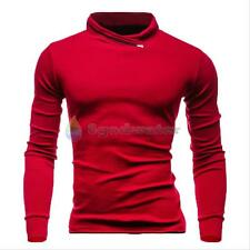 Men's Slim Pullover Hoodie Winter Warm Hooded Sweatshirt Coat Sweater Outwear