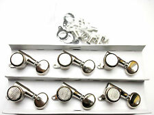 Kluson Backlock Tuners Mechaniken 6 links nickel