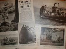 Photo article Switzerland test under water food storage 1940