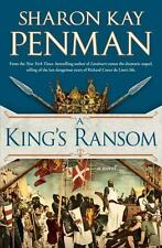 A King's Ransom: A Novel by Sharon Kay Penman (2014, HC, Lionheart Sequel) NEW