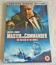 Master And Commander: The Far Side Of The World (DVD, 2004, 2-Disc Set)
