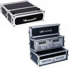 ROADINGER Doppel-CD-Player-Case Tour Pro, 3HE DJ-Rack für 3 HE Doppel-CD-Player