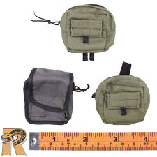 Navy SEAL UDT - Pouches Set of 3 - 1/6 Scale - Mini Times Action Figures