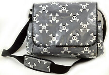Paul Frank Bag Messenger Diaper Bag Skull Bones
