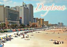 Daytona Beach Florida, Swimming, Music at Bandshell, World Famous FL -- Postcard