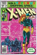 **UNCANNY X-MEN #138**(OCT. 1980, MARVEL)**CYCLOPS QUITS**CLASSIC COVER**NM**